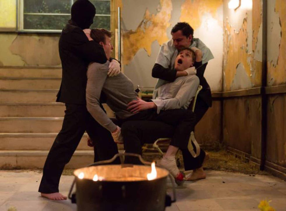Not for the faint of heart: 'Cleansed', now at the National Theatre