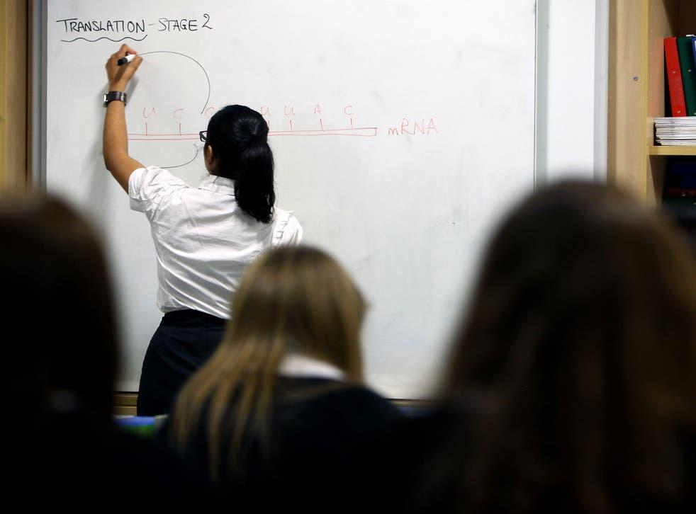 """The teacher shortage has been described as a """"national crisis"""""""