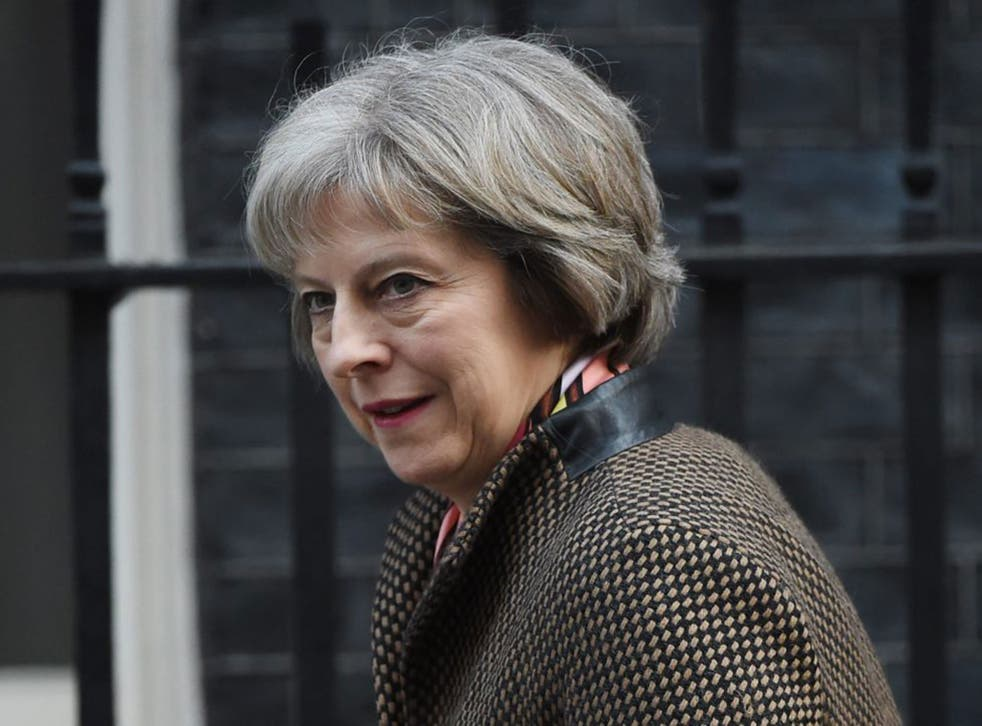 """Liberty criticised Mrs May for """"playing fast and loose"""" with the legacy of Winston Churchill, who was one of the Conventions early architects"""