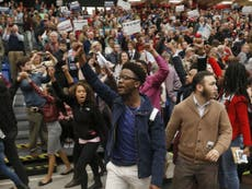 Read more  Donald Trump demands black student protesters be removed from rally