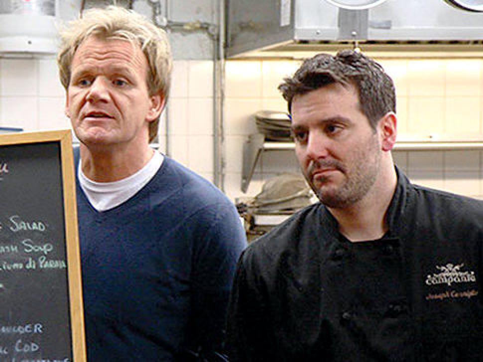 Kitchen Nightmares New Jersey Campania