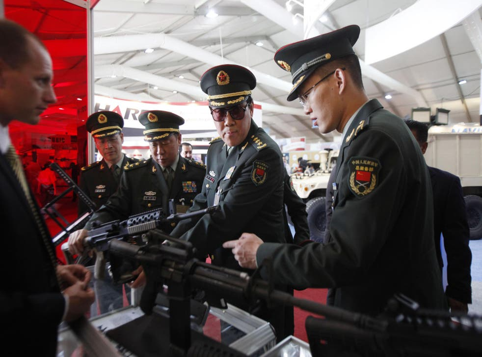 Two-thirds of African countries on the continent use military equipment of Chinese origin