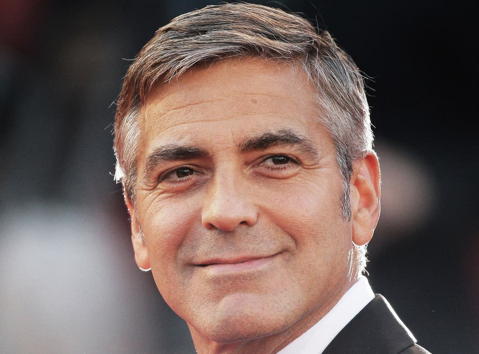Silver screen fox: Hollywood actor and director, George Clooney
