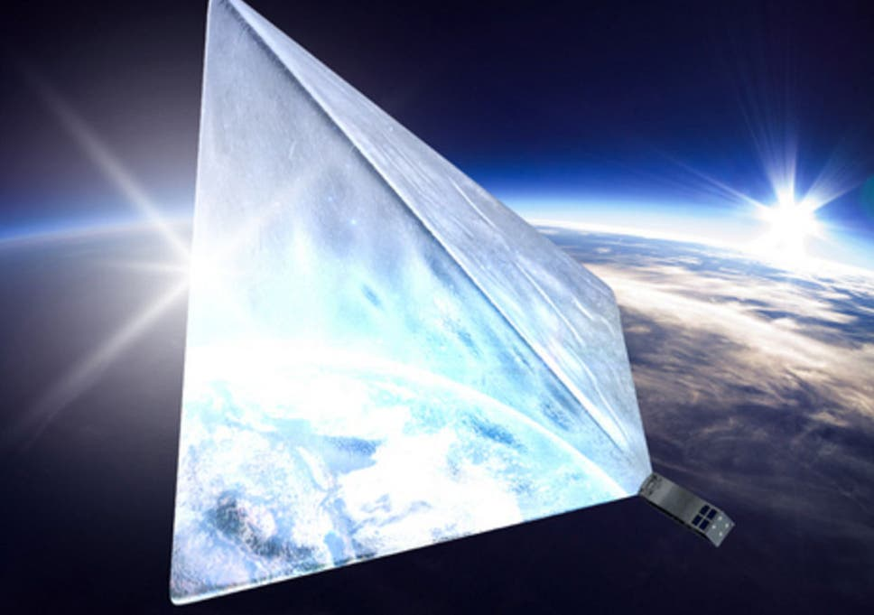 An artist's impression of what the Mayak satellite could look like once in orbit