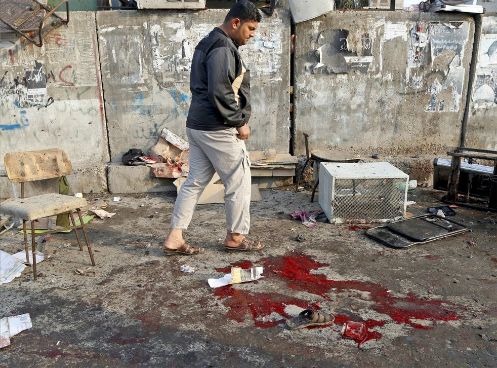 A jihadist suicide bomber killed 73 people in Sadr City in Baghdad on Sunday; Iraq's bloated security forces have proved unable to stop the bombers