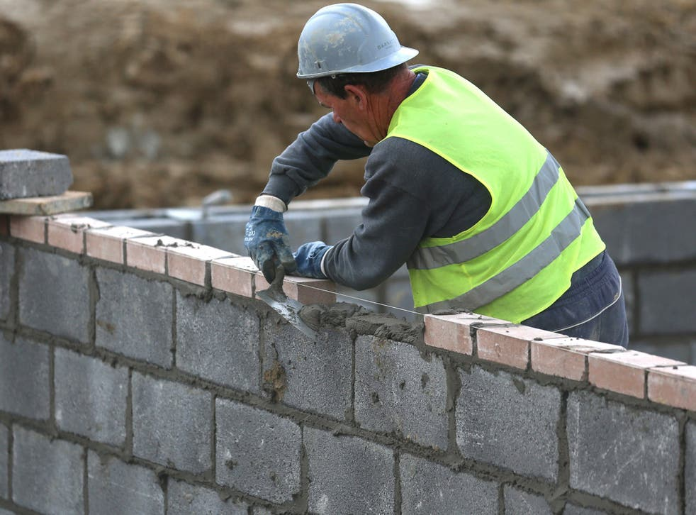 There are a record 475,647 homes in England which have been given planning permission but have yet to be built