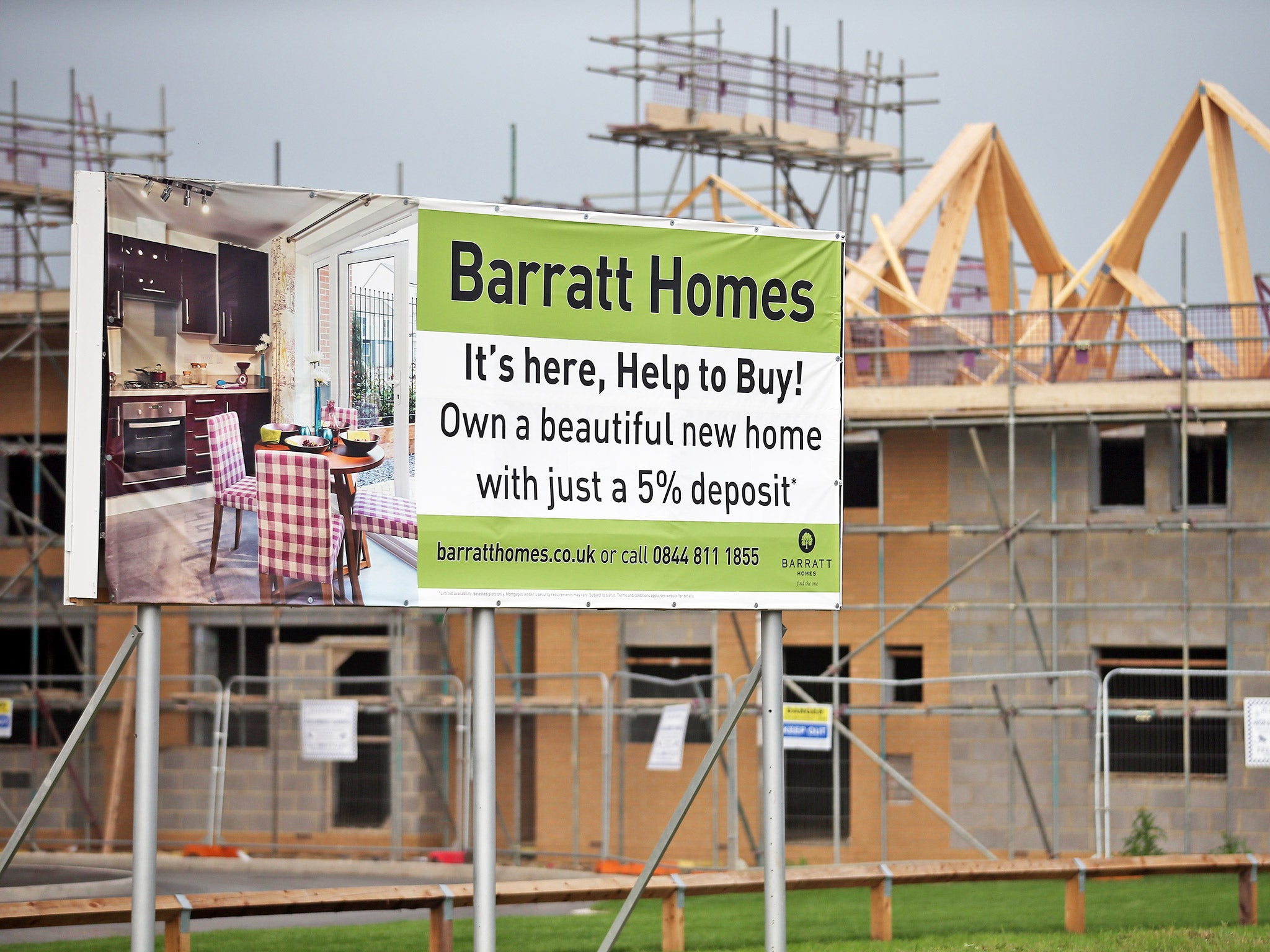 uk housebuilders restricting the supply of new houses to keep