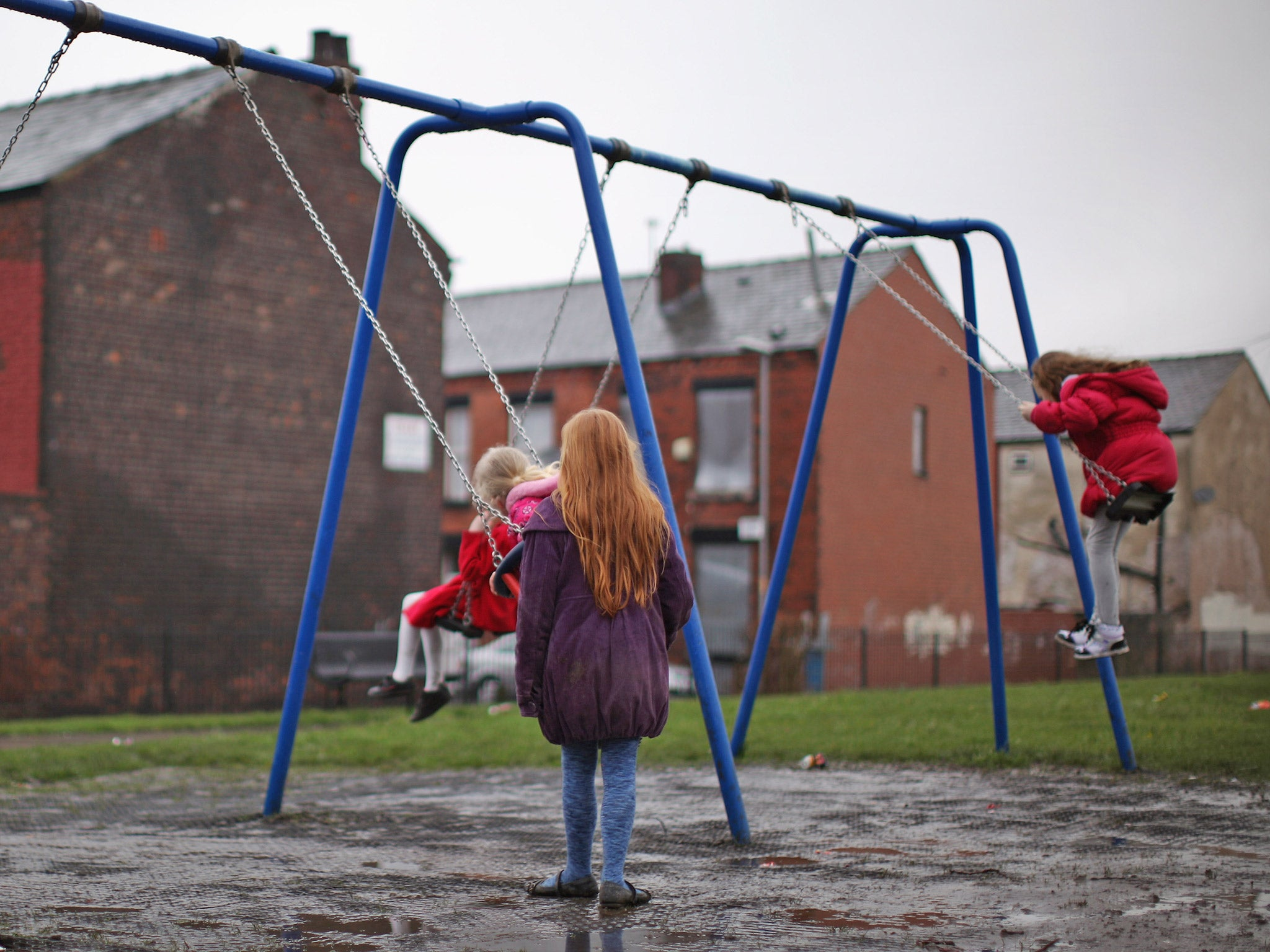 Half a million more children are living in poverty than in 2010