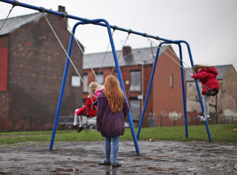 17.8 per cent of children are currently thought to be in relative poverty