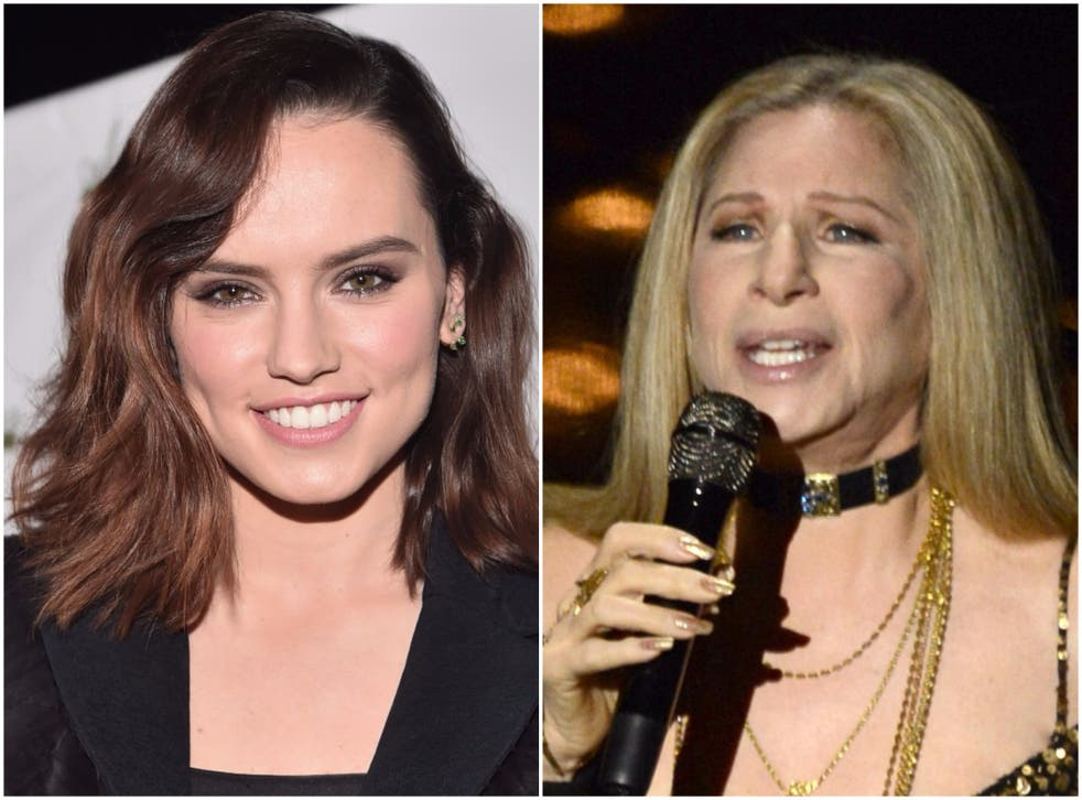 Daisy Ridley and Barbra Streisand hopefully releasing a mixtape within the year