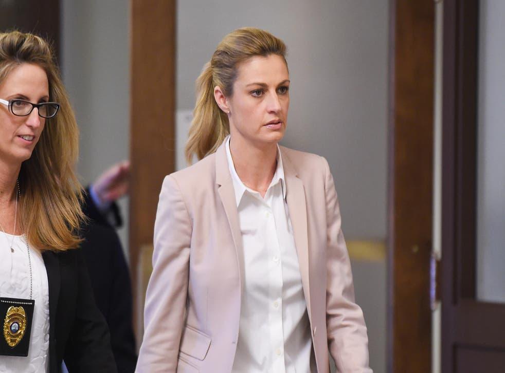 Erin Andrews arrives in court