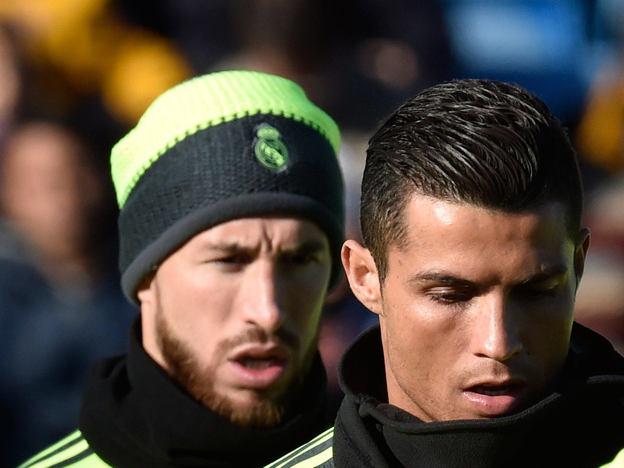 Sergio Ramos and Cristiano Ronaldo Photos Photos - Real ... |Sergio Ramos And Cristiano Ronaldo