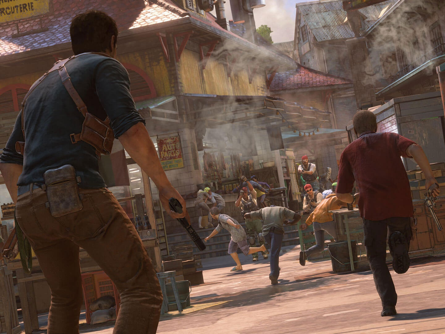 Uncharted  Buildings