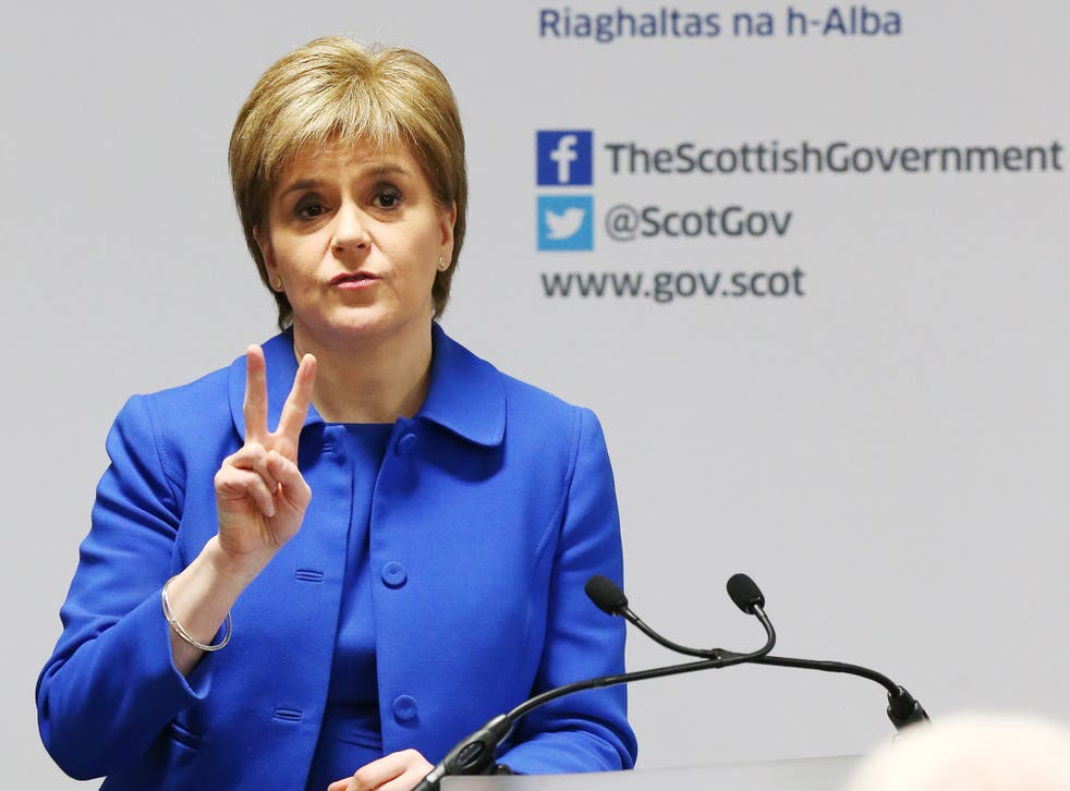 Scotland's First Minister Nicola Sturgeon has was outlined her government's plans for local taxation.