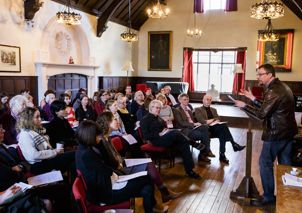 What do the scholars of the Shakespeare Institute actually do? | The