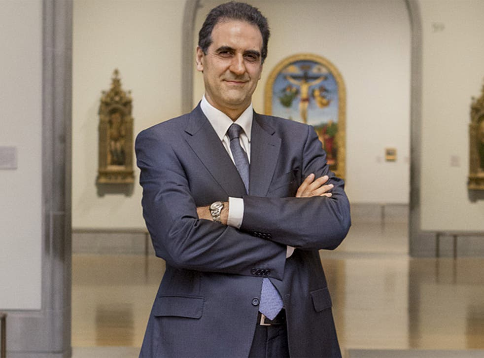 Gabriele Finaldi, director of the National Gallery:  'It is slightly frustrating to reach 1900 and then not go on'