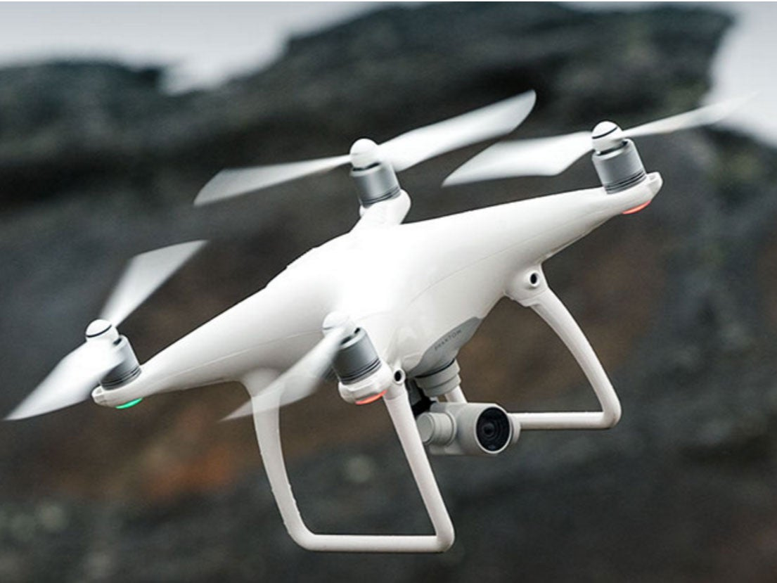 DJI unveils the Phantom 4 semi-autonomous drone | The Independentindependent_brand_ident_LOGOUntitled