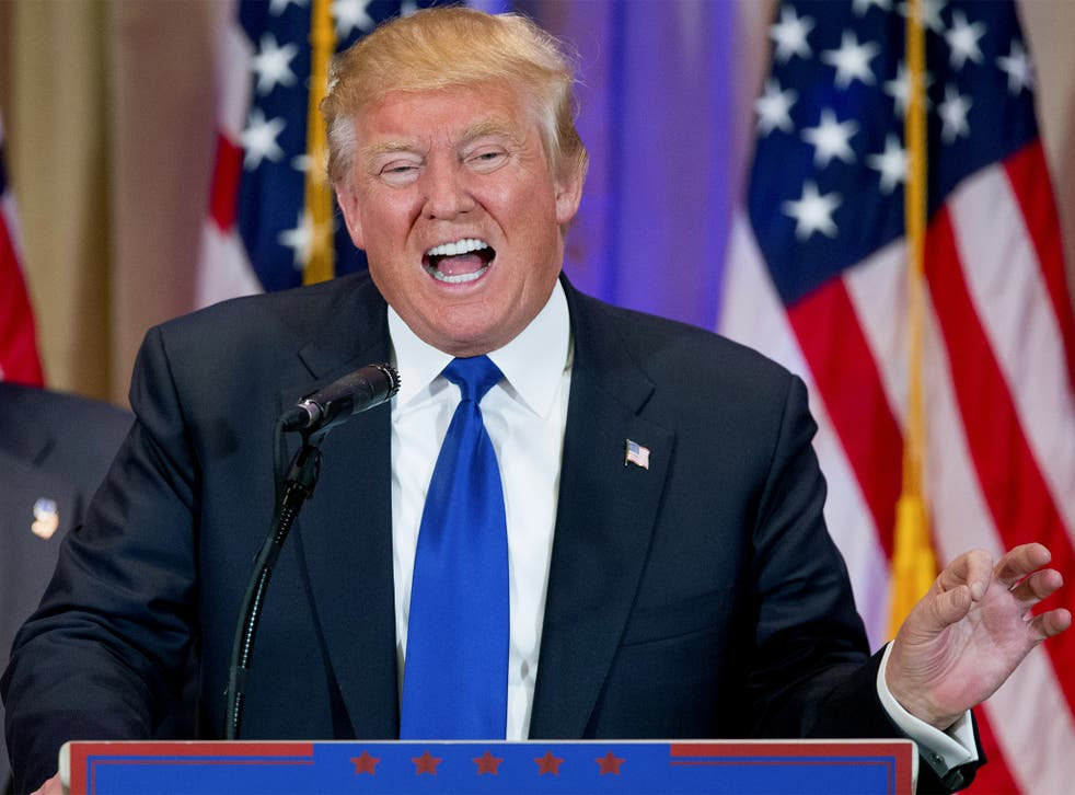 Mr Trump insisted he was disappointed that Mitt Romney did not win in 2012 - he 'disappeared and let people down'