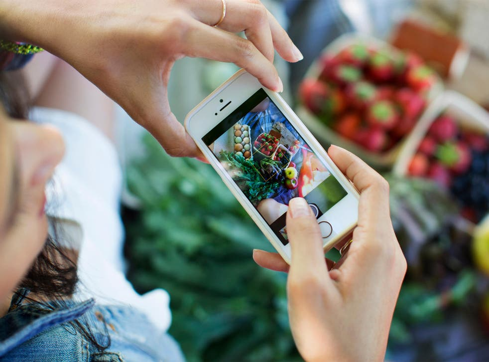 Fruit of the zoom: photographing your meal is the new way to prove you're a 'foodie'