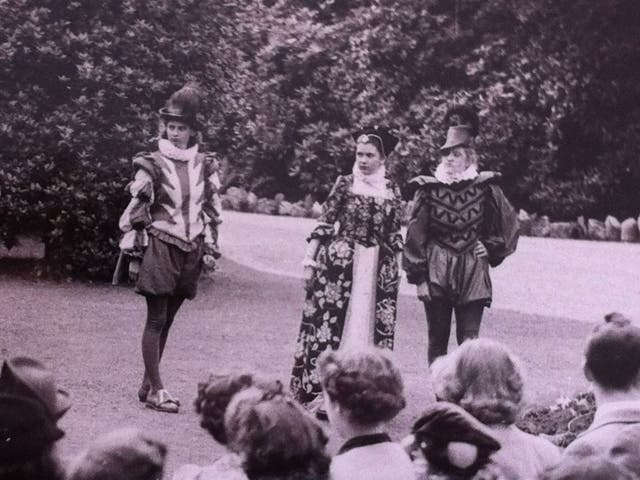 Joan Bakewell (centre) as Hermia: 'I wanted instantly to become an actress'