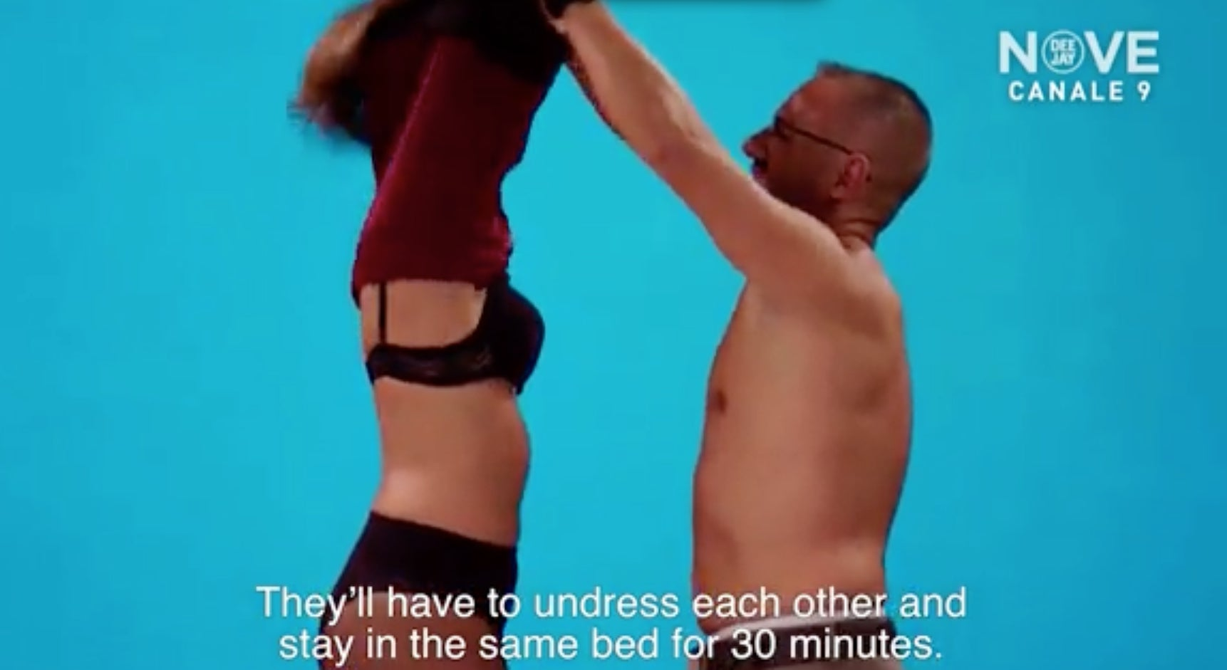 Undressed Reality TV Show Where Couples Strip Off And Share A Bed - Awkward video shows strangers undressing eachother