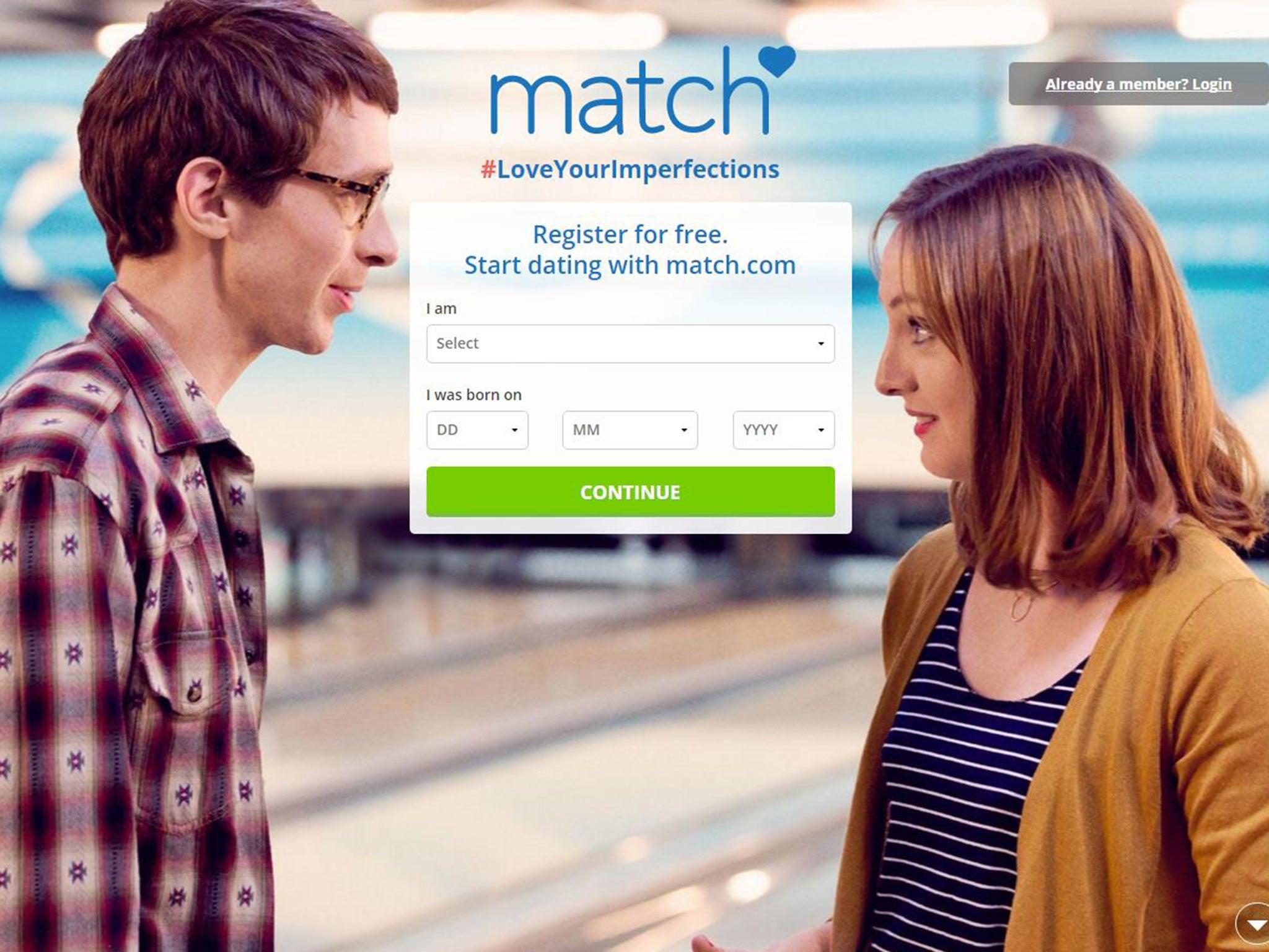 Match dating site log ind