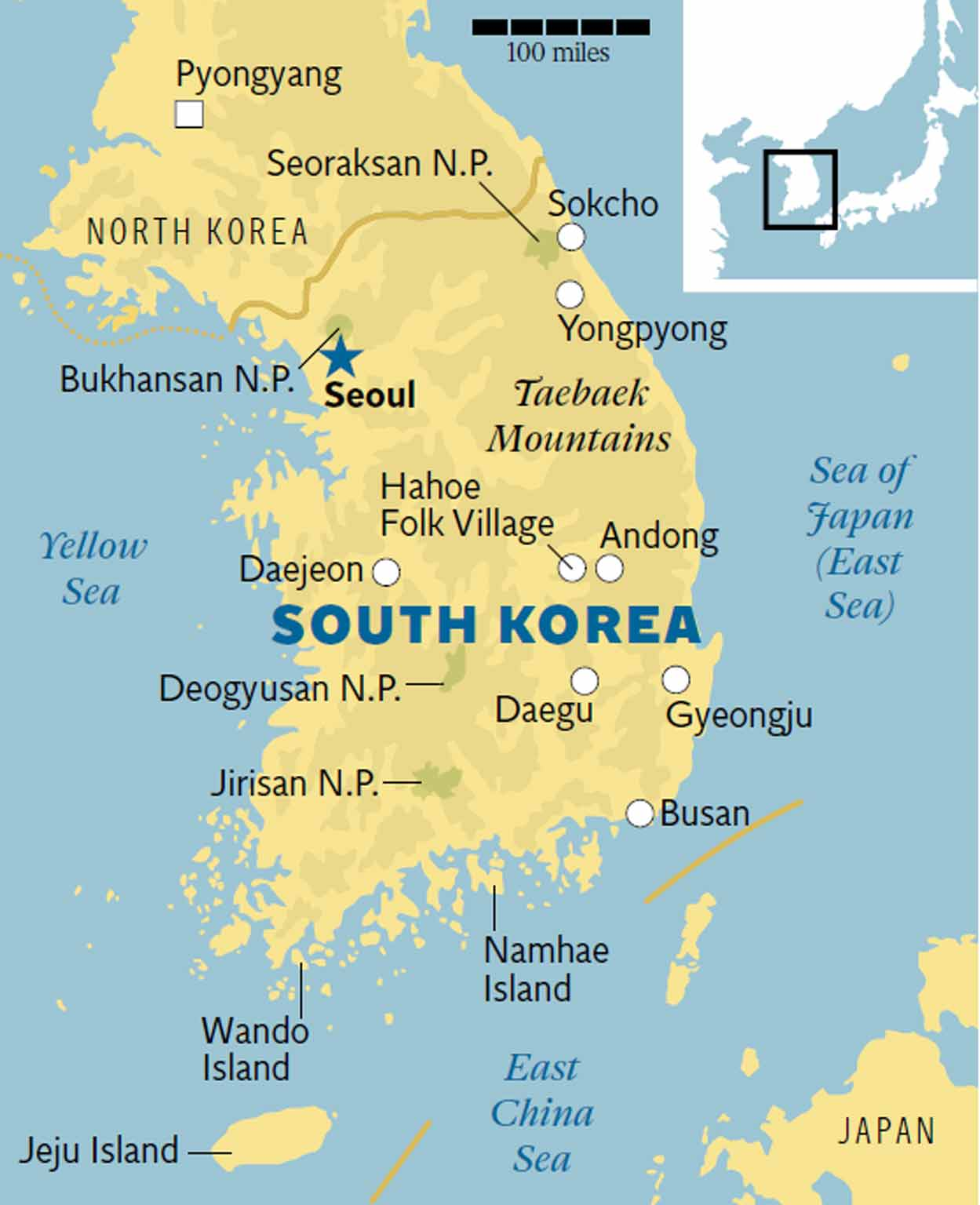 South Korea: From Seoul and Jeju to traditional villages | The ... on luxembourg mountains map, malaysia mountains map, cyprus mountains map, taiwan mountains map, hungary mountains map, north caucasus mountains map, sudan mountains map, tunisia mountains map, u.s. mountains map, sierra leone mountains map, finland mountains map, dominica mountains map, belize mountains map, bhutan mountains map, western us mountains map, aleutian islands mountains map, barbados mountains map, bangladesh mountains map, euphrates mountains map, liberia mountains map,