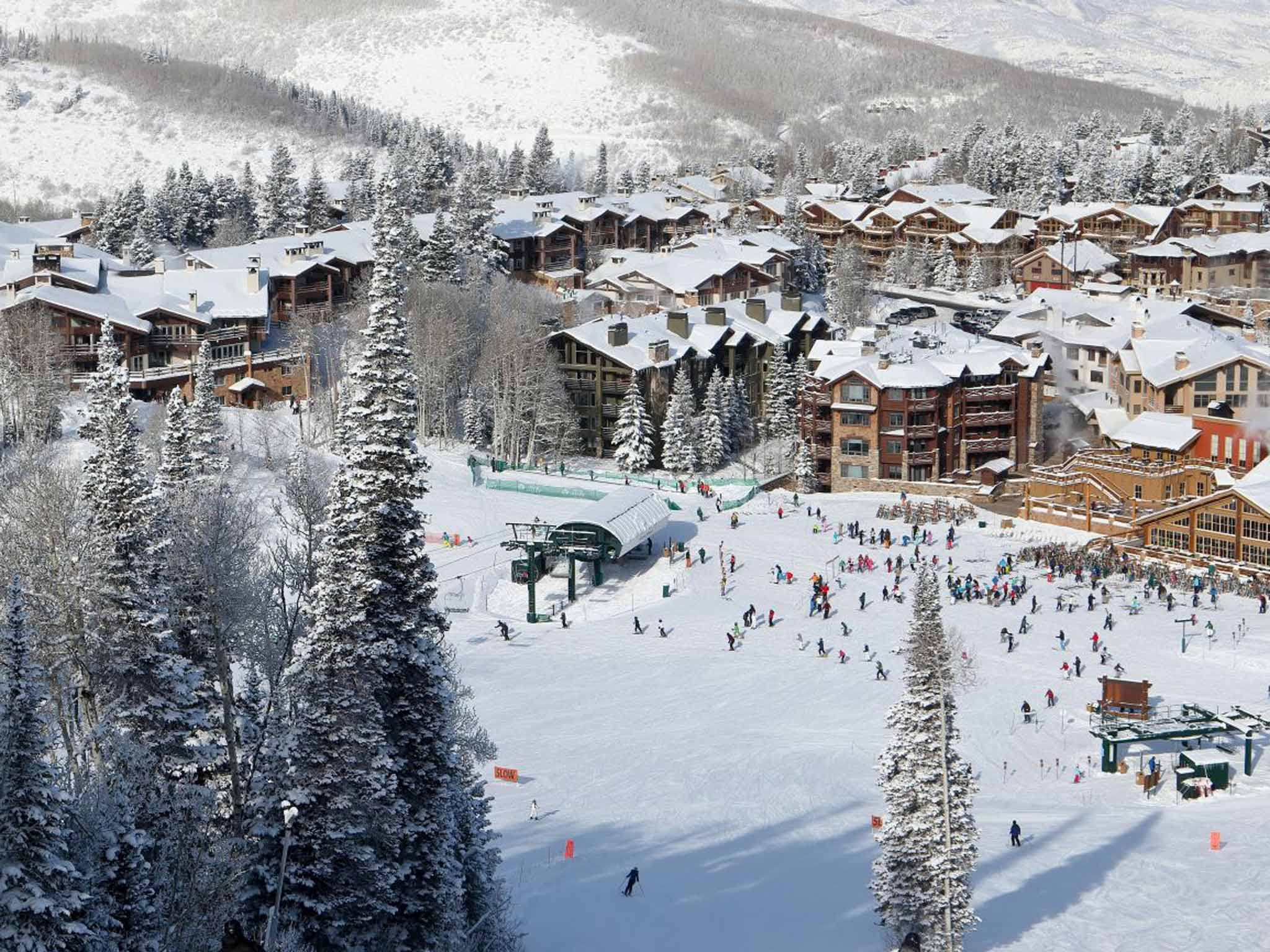 how utah's park city became the biggest ski area in the usa | the