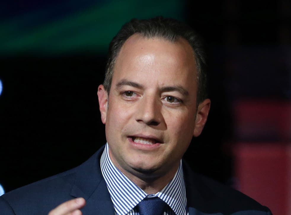 Mr Priebus stuck to the Trump line on Sunday morning television