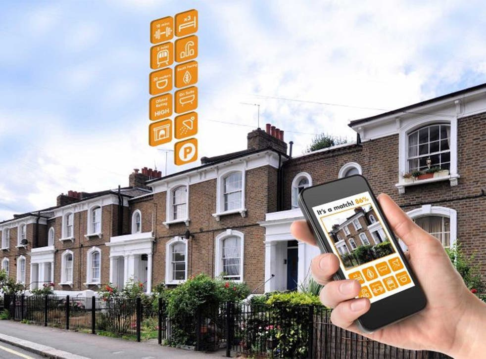 Clever stuff: invisible beacons inside the property will replace For Sale boards. If the house for sale matches your particular criteria the details will be uploaded to your mobile device as you pass by