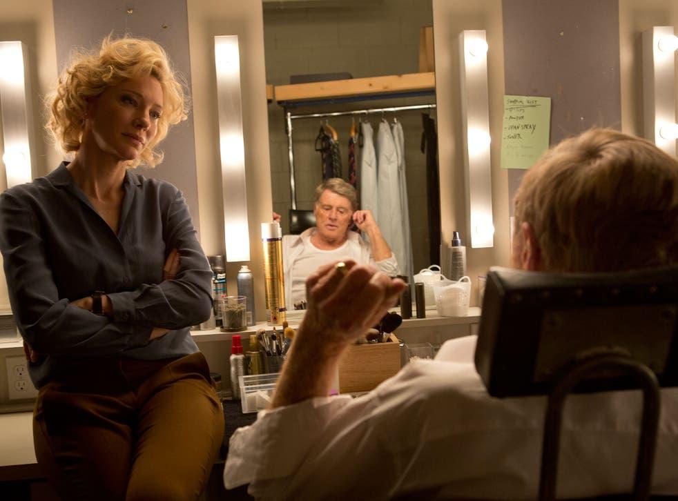 Under the spotlight: Cate Blanchett and Robert Redford in 'Truth'