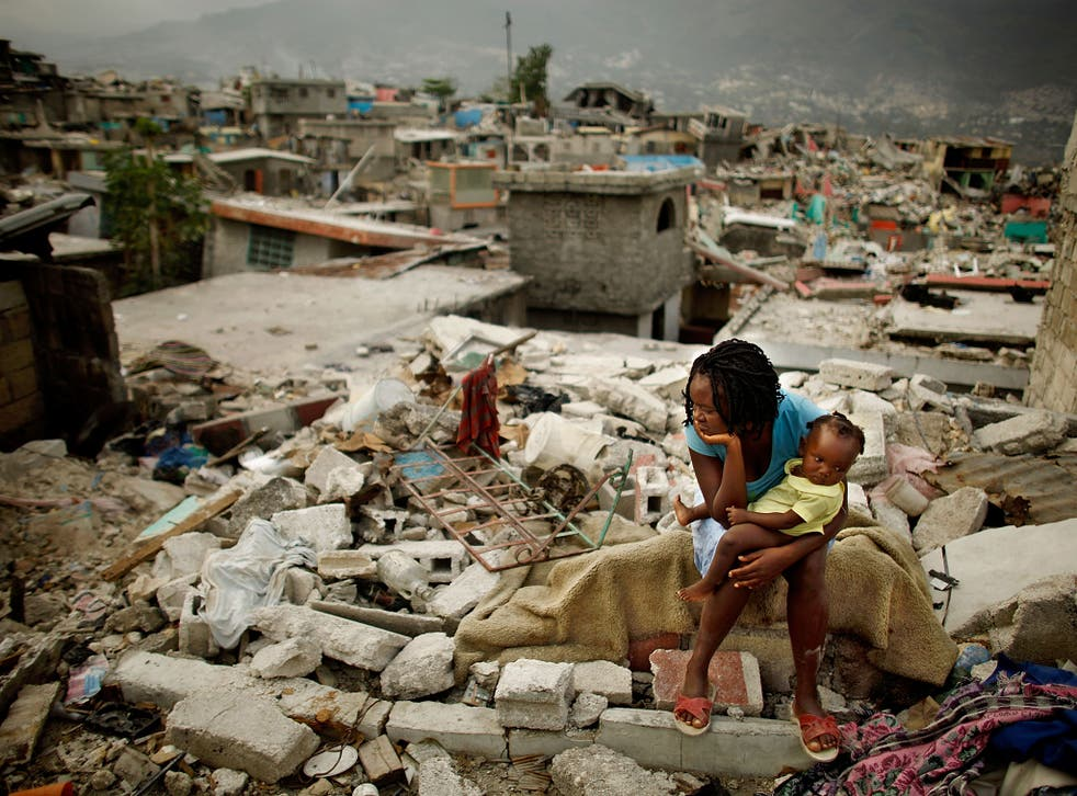The Haiti earthquake of 2010 killed up to 160,000 people