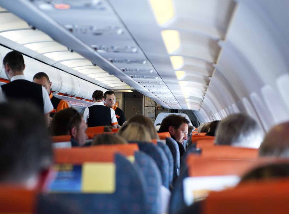 Flight safety: cabin crew profile passengers as they board