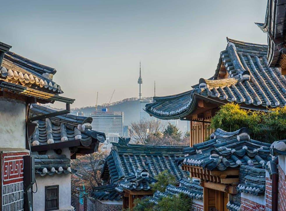 On the tiles: a historic neighbourhood in the capital, Seoul