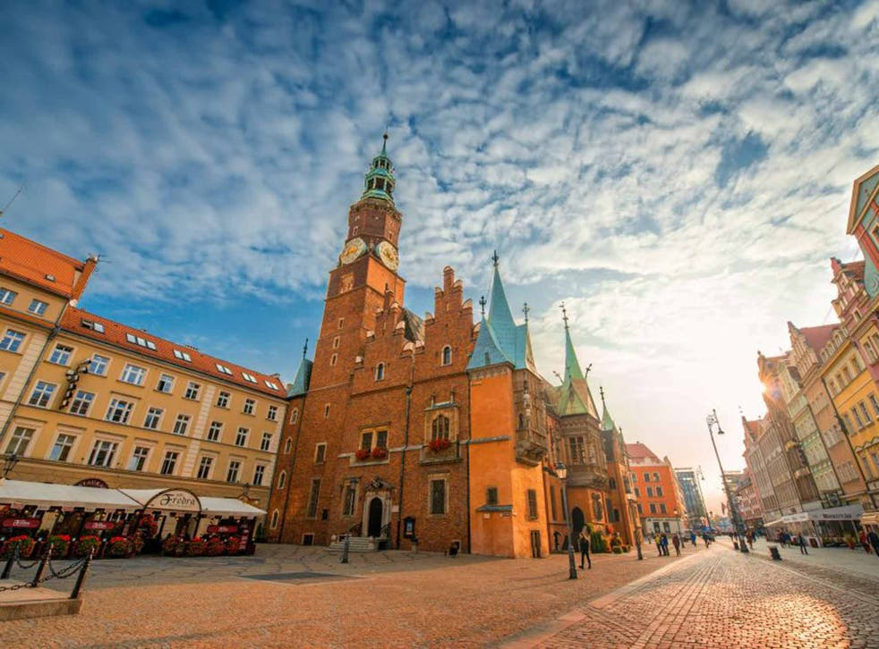 Rynek is at the heart of Wroclaw
