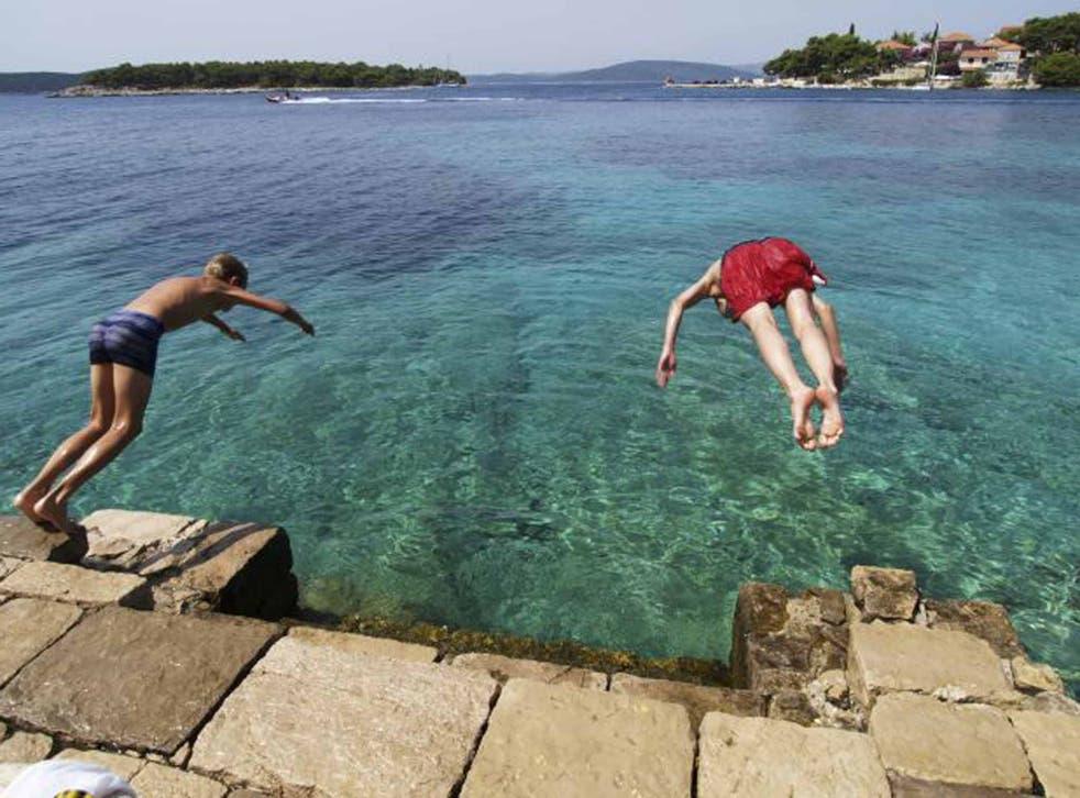 Leap into action: Costa Navarino