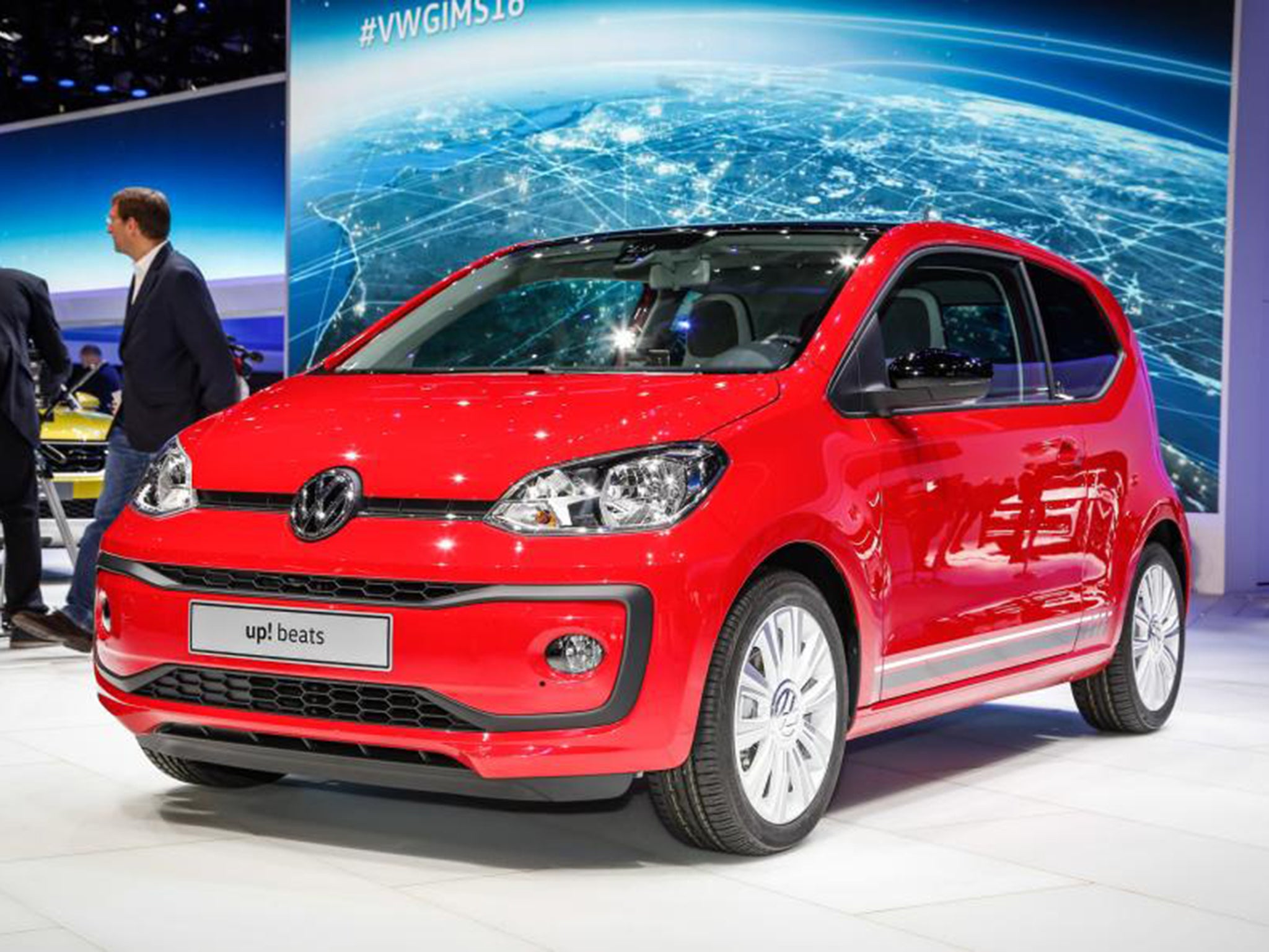 vw up gets a facelift striking new looks help the city car celebrate its fifth birthday in. Black Bedroom Furniture Sets. Home Design Ideas