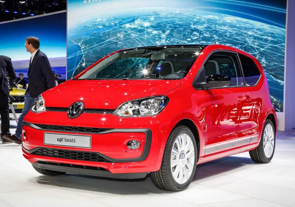 Vw Up Gets A Facelift Striking New Looks Help The City Car