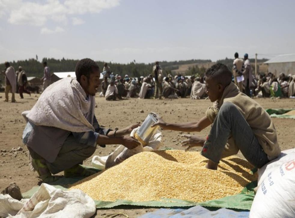 Nearly 10 million people are at risk of hunger in Ethiopia