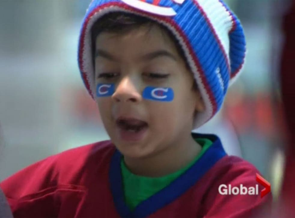 Hockey fan Syed was delayed on his way to the NHL Winter Classic in Boston