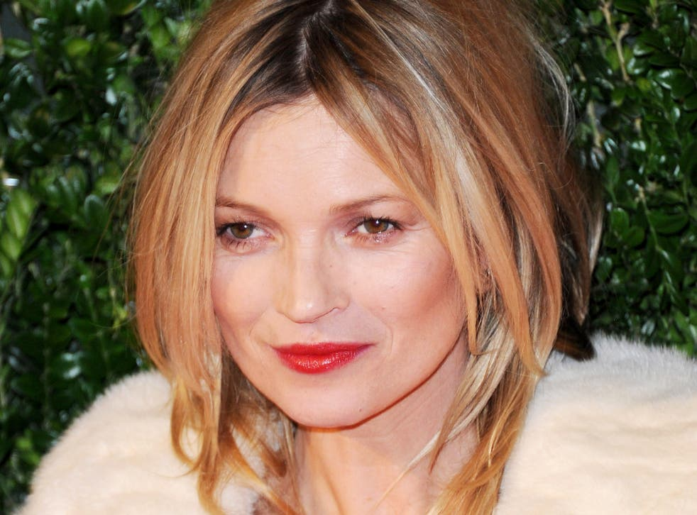 Some scientists have claimed that Kate Moss owes her beauty to her symmetrical features