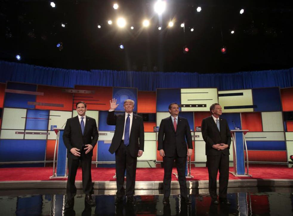Marco Rubio, Donald Trump, Ted Cruz and John Kasich do not belong to a Republican party that the 16th president would recognise