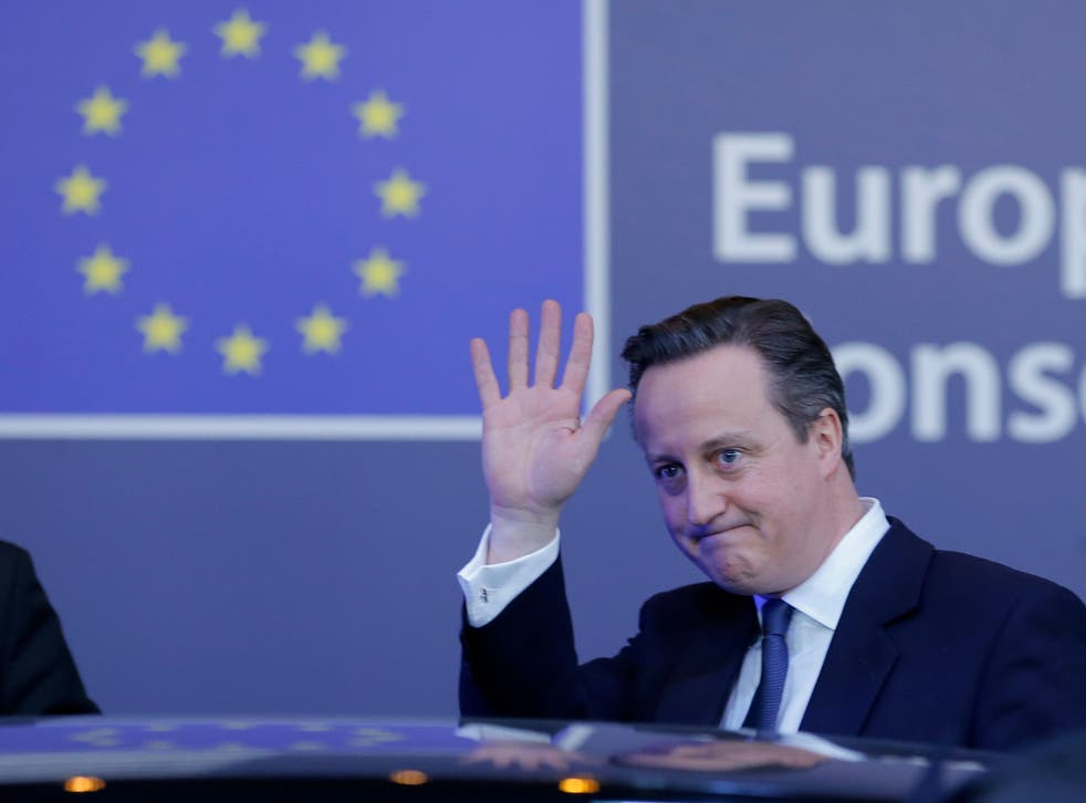 So far there has been only one poll since David Cameron agreed the new terms of Britain's membership of the EU