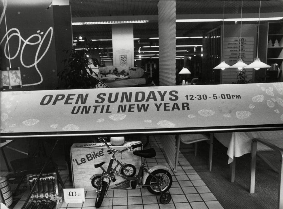 Ministers had previously dropped a vote that would have allowed councils the right to extend Sunday trading hours