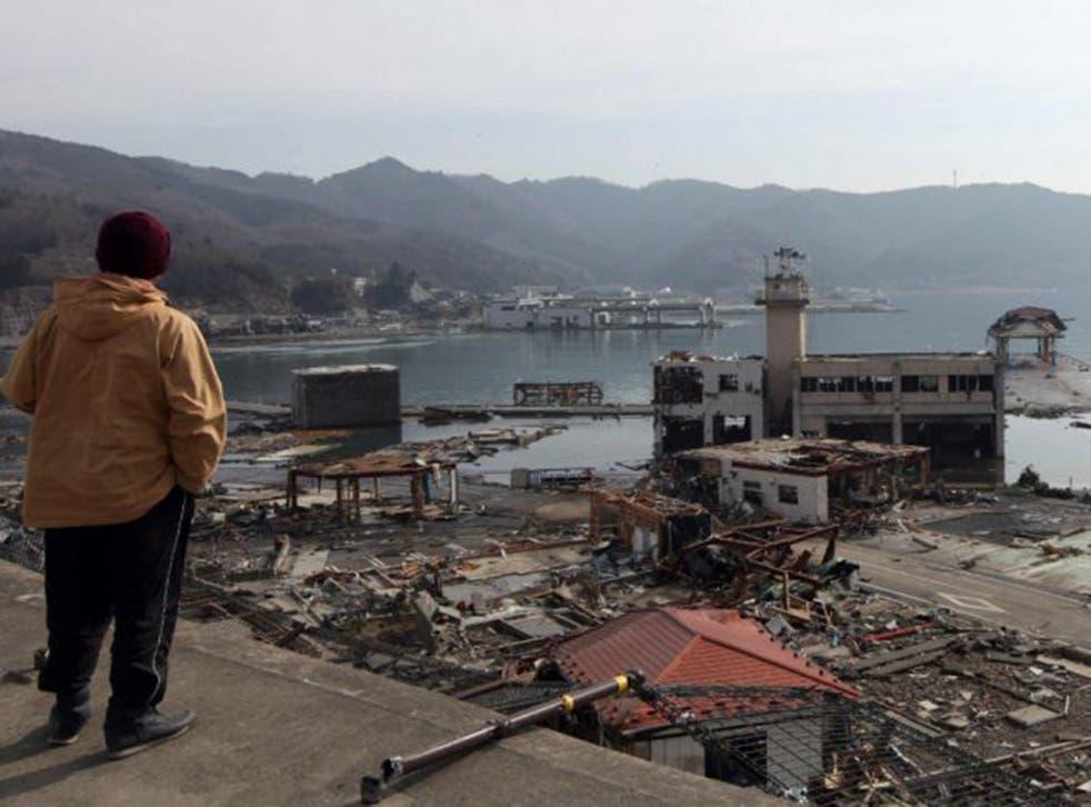 The sea wall failure was most striking at the Fukushima Daiichi Nuclear Plant