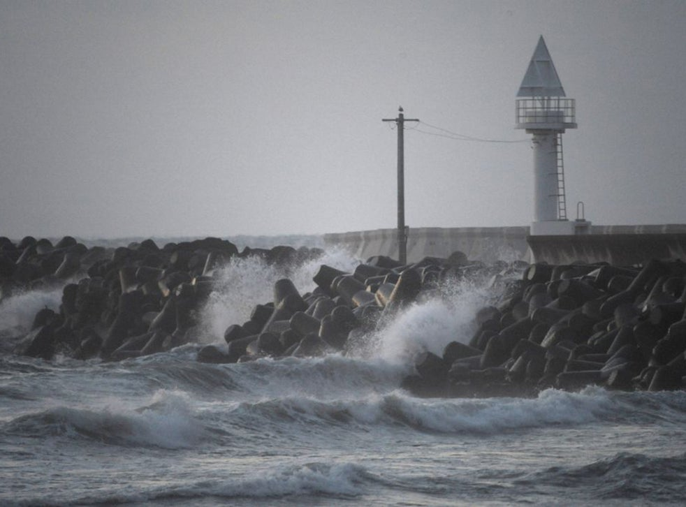 Japan S Sea Wall Storm Brews Over Plans To Construct Giant 5bn Barrier Against Tsunamis The Independent The Independent