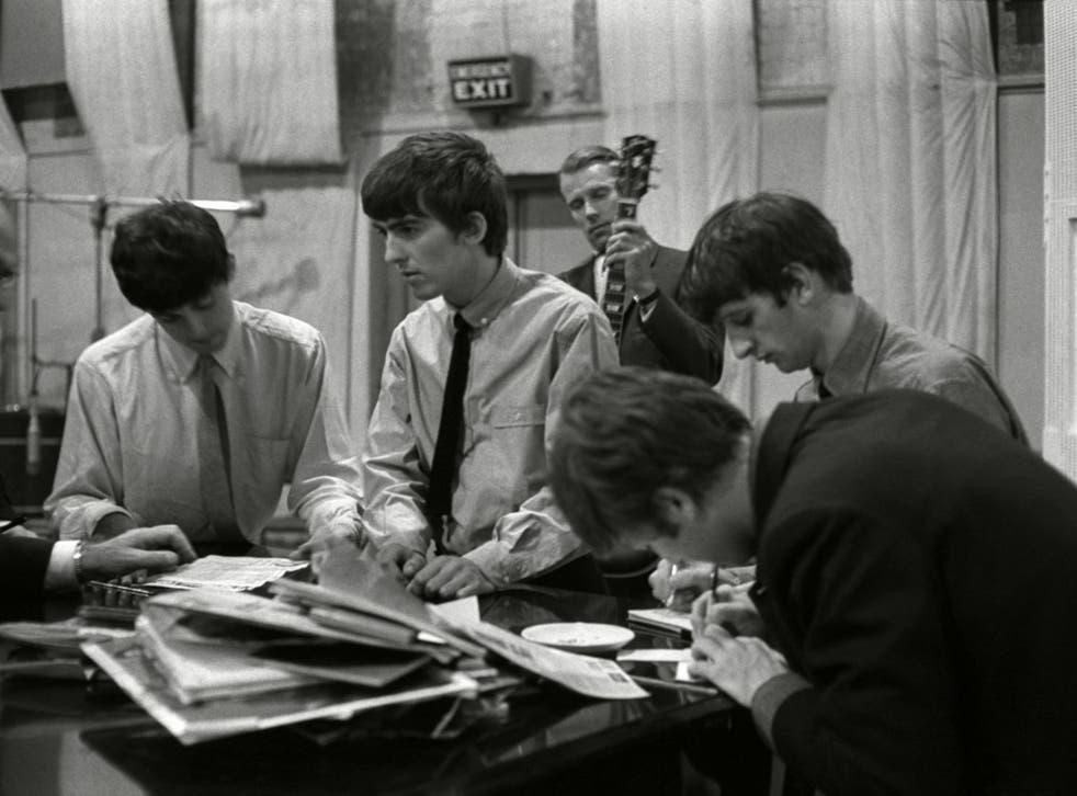 The Beatles in 1965. Iris Murdoch was shocked by the murder of John Lennon in 1980