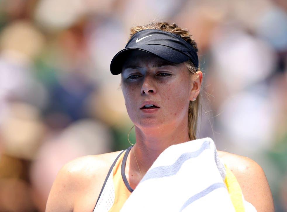 Maria Sharapova will make a 'major announcement' on Monday night