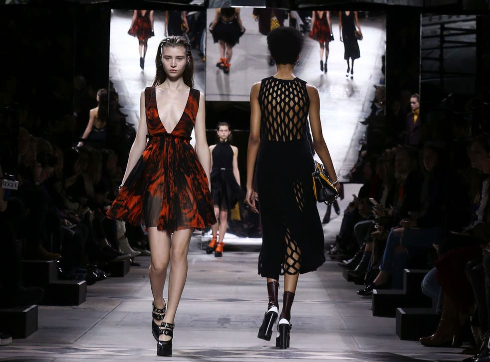 Mulberry showcases its collection at Fashion Week.