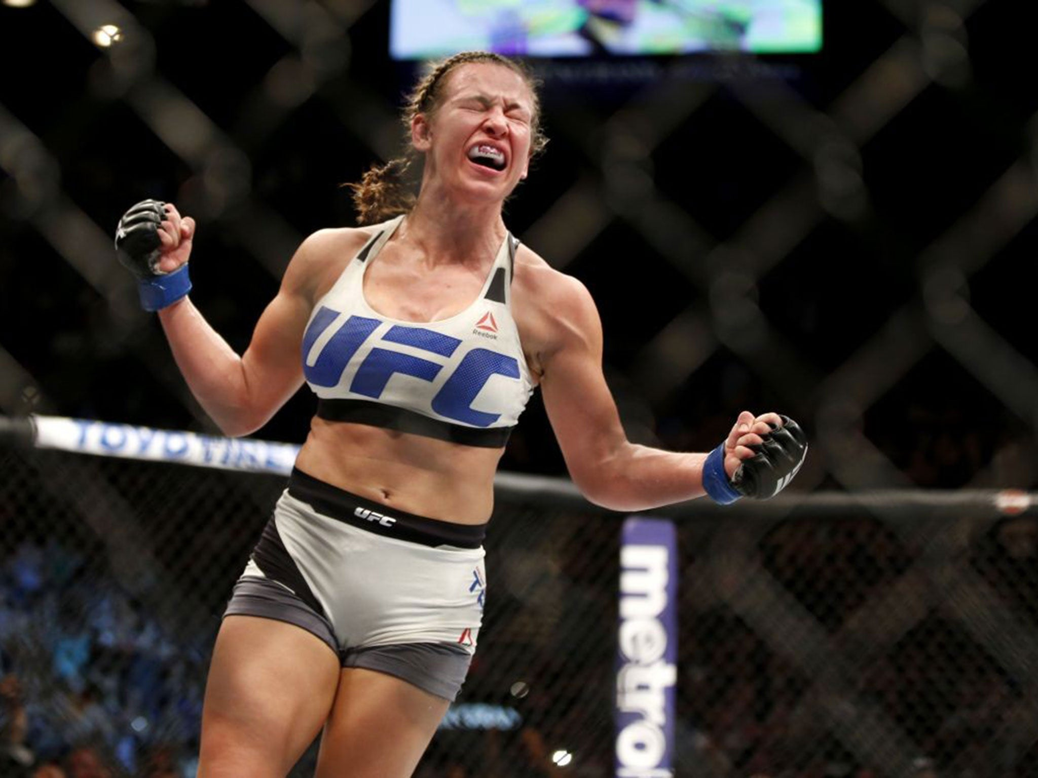 the fight she won She took a job as a bartender and waitress in los angeles eventually, she discovered and started training in mixed martial arts rousey won her first three amateur fights in the first round, by armbar she then signed with tuff-n-uff where she won her next two fight in the first round, by armbar.